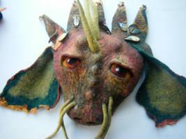 Dragon Mask by SnowBoundPanda
