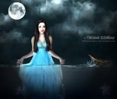 between the sea and the moon by TatianaSSabino