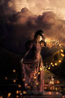 the light of magic flame by TatianaSSabino