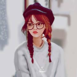 The Girl by TatianaSSabino
