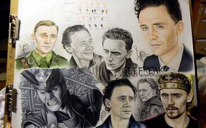 Tom Hiddleston page WIP by GeeFreak