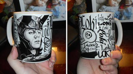 Loki Mug by GeeFreak