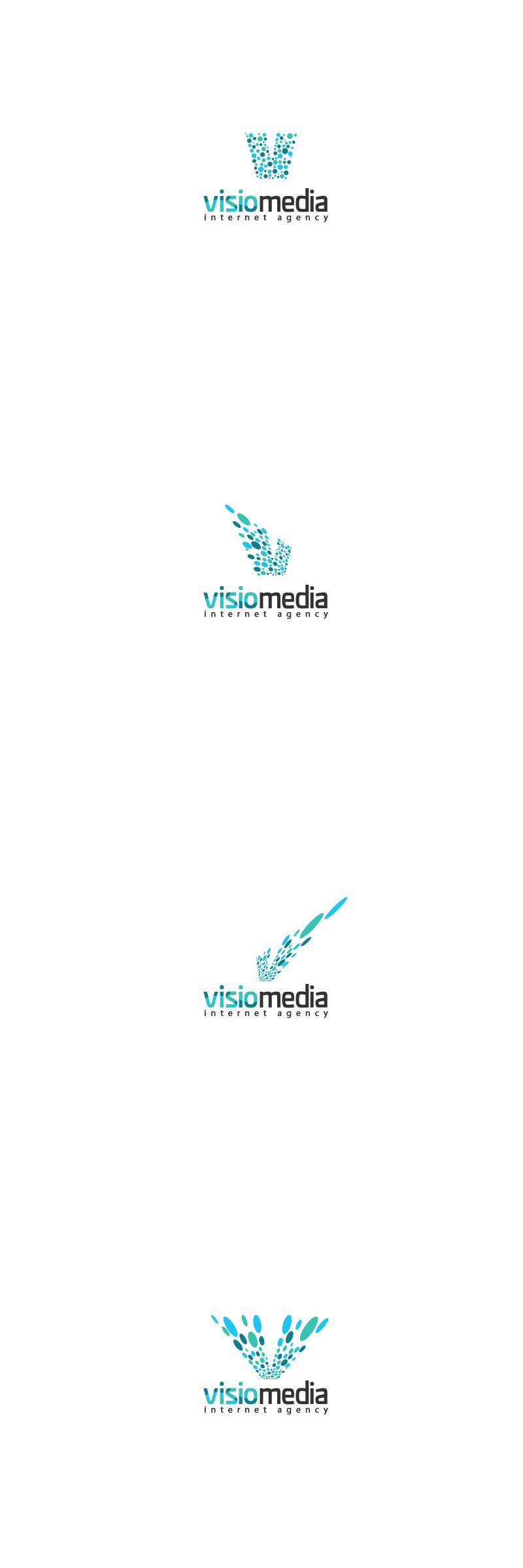visiomedia logo - Logo options by okiz