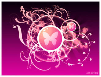 Pink Butterfly by 0verdramatic