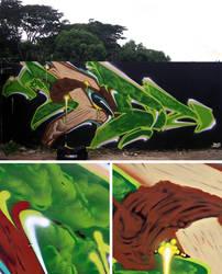 Brazil Wall by i60