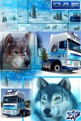 wolves truck by DMaerografie