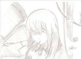 Makise Kurisu by MitarashiXP