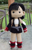 Final Fantasy VII | Tifa Lockhart doll by featheredshaft