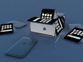 3D iPods by Dmeville