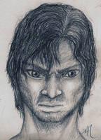 Warrior Sketch by Dmeville