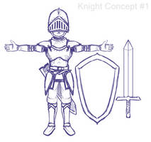 Knight Concept by Dmeville