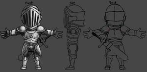 Mini Knight - 2 by Dmeville