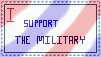 Military Support Stamp by JeweloftheDesert