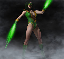 Green Flame by hiram67