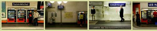 Line 4, Paris Metro by Offering