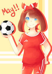 COM - Soccer Player May by Latiasrojo99