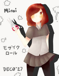 Mirai - Mozaik Role by Latiasrojo99