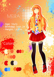 Meira (Reference) by Latiasrojo99