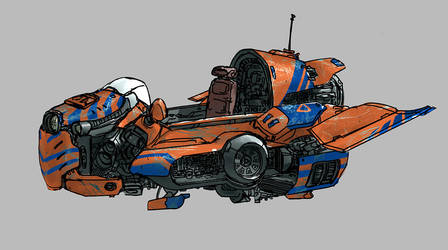 Vehicle Sketch by Otto-Metzger