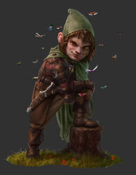 Character for an upcoming old school RPG by Otto-Metzger