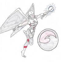 Hawkwoman Shayera Hol by UrsaMagnus