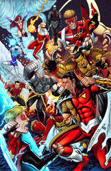 My Comrades, my enemies! - Steel Wolf vs Red Guard by UrsaMagnus