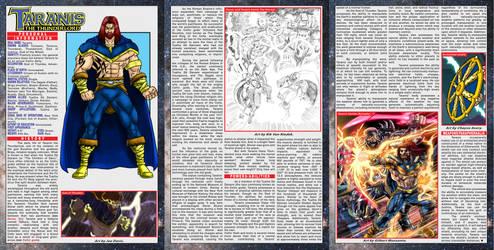 Taranis The Thunderlord character profile by UrsaMagnus