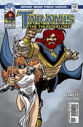 Taranis the Thunderlord #3 cover by UrsaMagnus