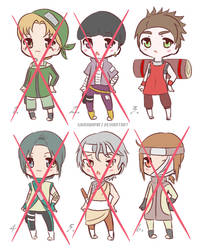 Male Adoptables OCs Naruto (5/6) [OPEN] 80 pts by shirayama