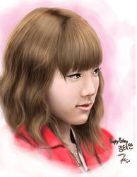 SNSD Tae Yeon Happy Birthday by landycakep
