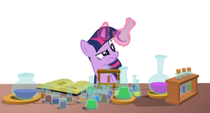 Twilight in the laboratory by dervonnebenaan
