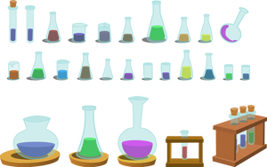 Resource: Bottles by dervonnebenaan