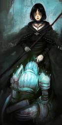 - maiden in black - by Kanoe-v2