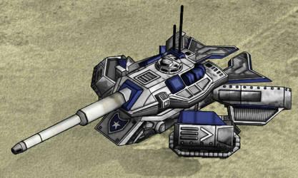 Crusader Tank Hover mode by sylergcs