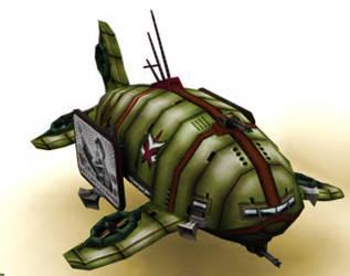 Propaganda airship by sylergcs