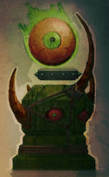 Underlord Oberon Totem, War for the overworld by sylergcs