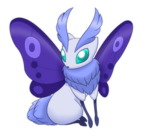 Fakemon Eeveelution: Silkeon by Lichtdrache