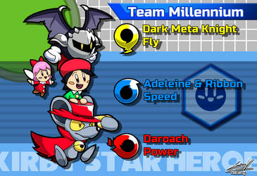 Kirby Star Heroes: Team Millennium by GSVProductions