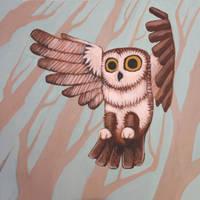 Owl by AlyssaTallent