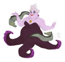 Sketch Dailies - Ursula by AlyssaTallent
