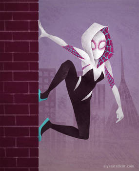 Spider Gwen by AlyssaTallent