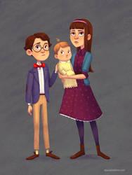 The Baudelaire Orphans by AlyssaTallent