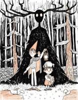 Inktober Day 15- Mysterious by AlyssaTallent