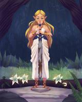 Master Sword by AlyssaTallent