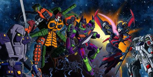 Transformers of the Rising Sun by shumworld