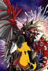 Flare vs Scorn by shumworld