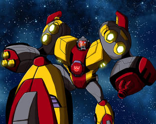 Animated Omega Supreme by shumworld