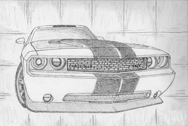 Challenger SRT by Black95Bay