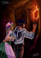 Milo and shaina into the cave by Nizhan