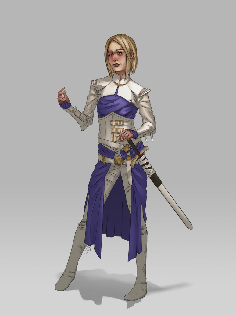 Muriel, Cleric of Mystra by Snakebearer